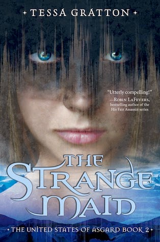 the strange maid by tessa gratton book cover