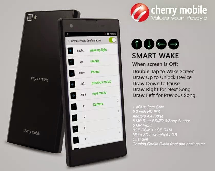 Cherry Mobile Excalibur Unveiled, Another Budget Octa-core for P6,999
