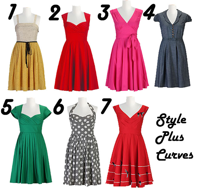 Style Plus Curves, eShakti, Plus size dresses