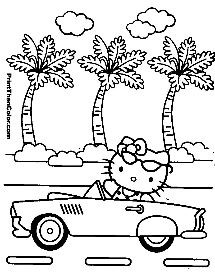 Coloriage hello kitty en ligne liberate - Hello kitty jeux coloriage ...