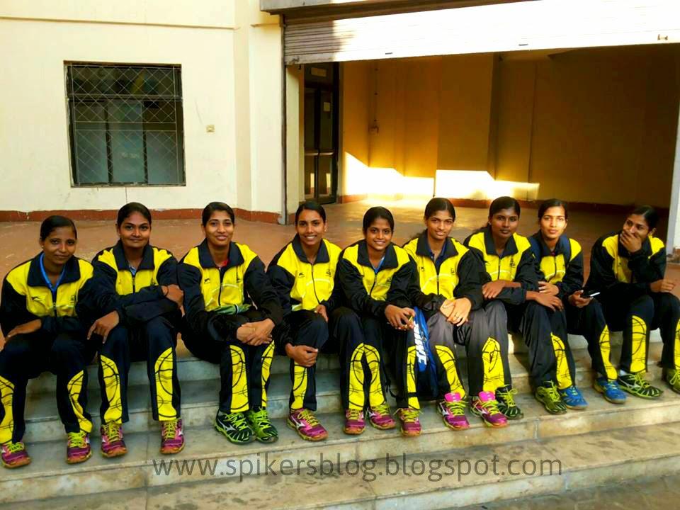 The Spikers Blog Kerala Senior Womens Team Photos