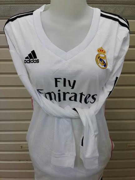 Jersey Cewek Real Madrid Home