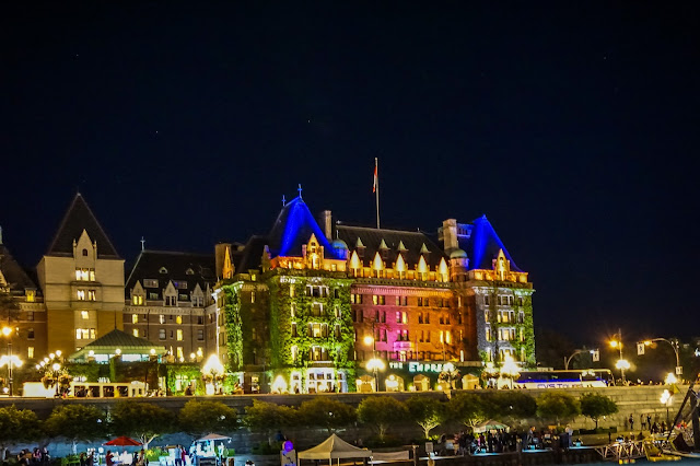 The Fairmont Empress Hotel- Victoria- British Columbia-Canada