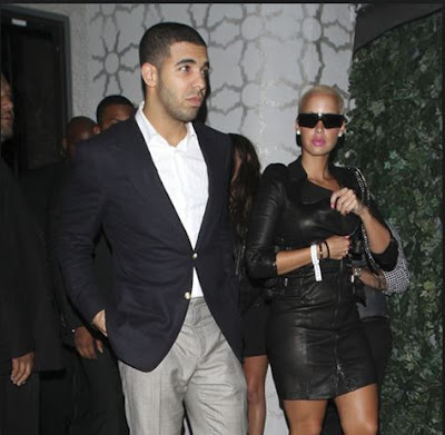 drake and amber rose dating french