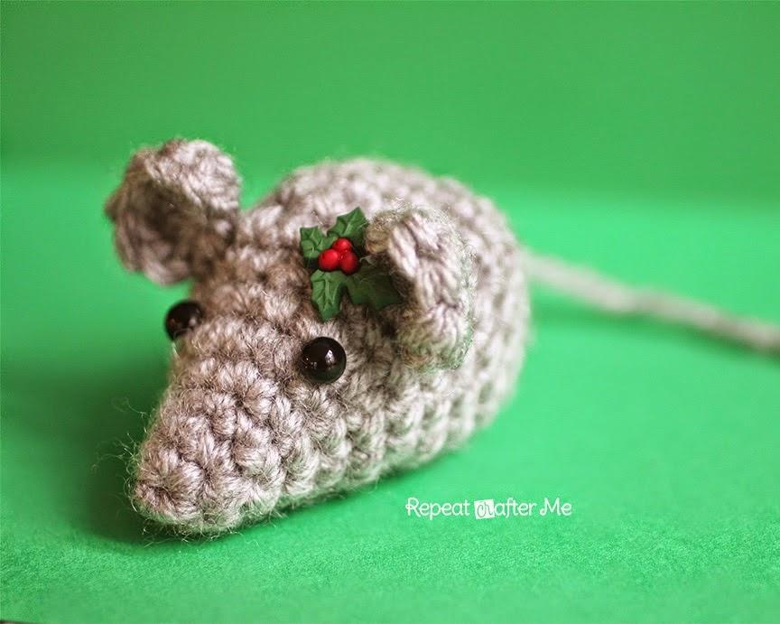 free crochet pattern amigurumi mouse