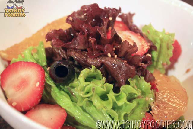 pomelo citrus green salad