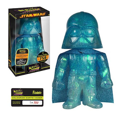"Star Wars ""Hologram"" Darth Vader Hikari Sofubi Vinyl Figure by Funko"