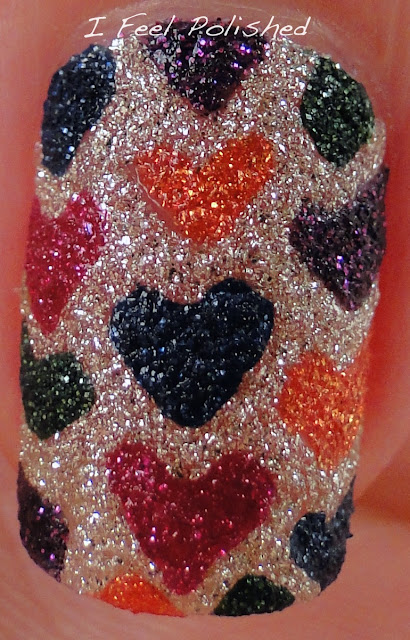 Zoya Pixie Dust Fall 2013 Nail Art
