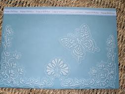 My parchment Card