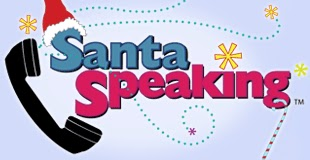 Santa Speaking Logo