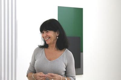 Isabel Soto hija de Jesús Soto y Curadora. Fotografía Gladys Calzadilla