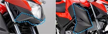 Sparepart variasi Honda CB250F