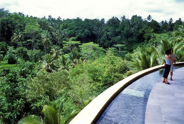 jungle, Balinese architecture