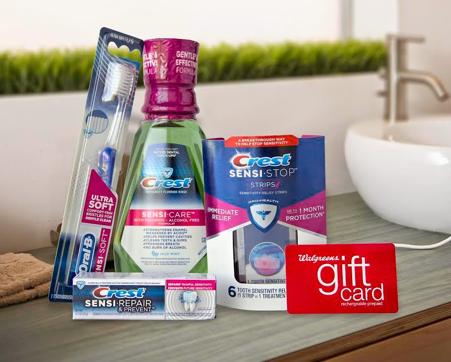 Enter the Crest/Walgreens Giveaway. Ends 9/29