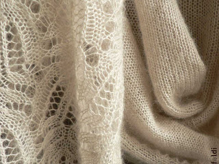 frost flower lace shawl