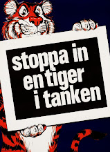 In med en tiger i tanken