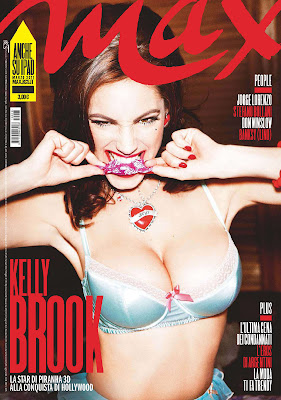 Kelly Brook Max Magazine Photoshoot