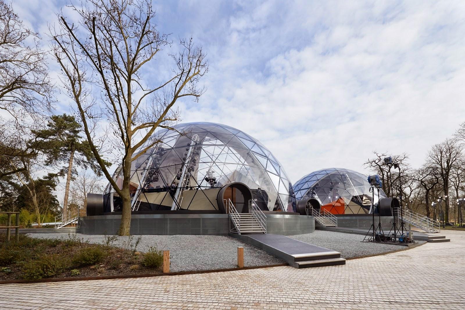 Dômes Louis Vuitton, Fondation Louis Vuitton, dudessinauxpodiums, du dessin aux podiums, LVdome, dômes géodésiques, dômes géodésiques Louis Vuitton