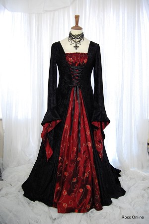 black and red wedding dress 8 jpg