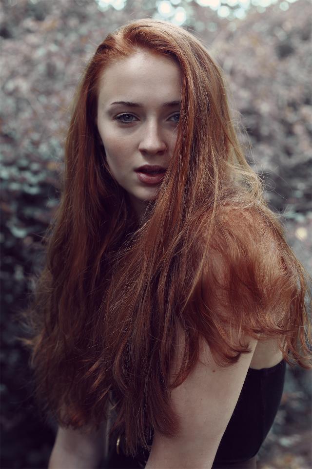 Hair sophie turner