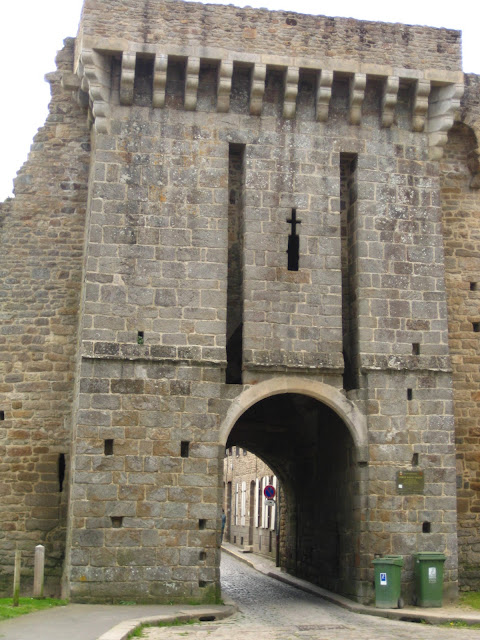 St. Malo Gate in Dinan, France.