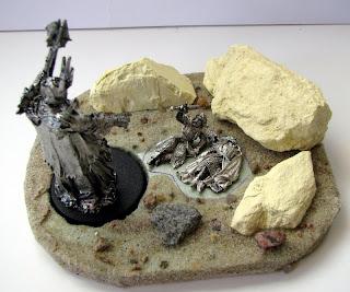 władca pierścieni diorama