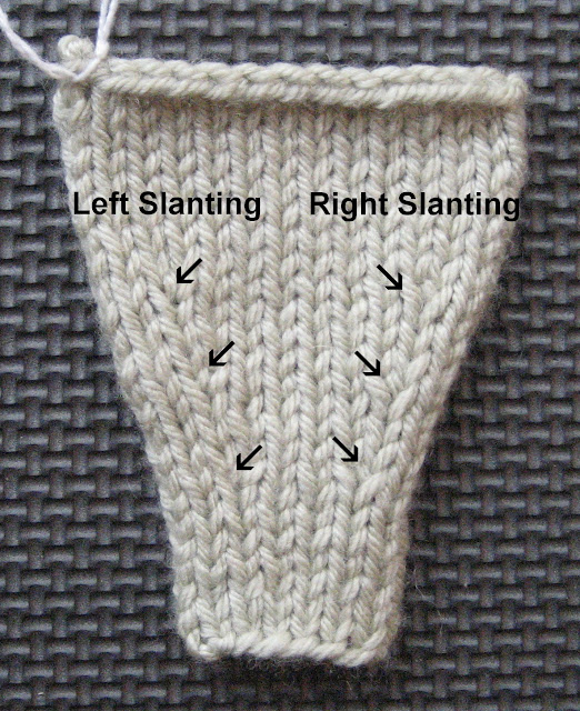 Knitting Increases Left And Right : Arenda holladay