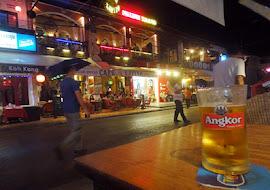 Pub Street at Siem Reap