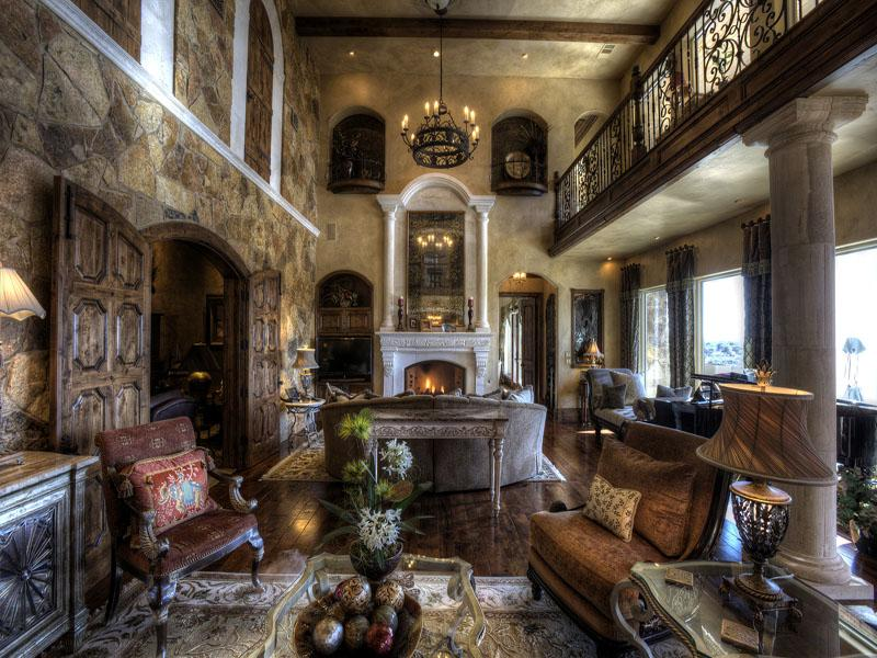 Inside old victorian homes victorian gothic interior for Old world home decor