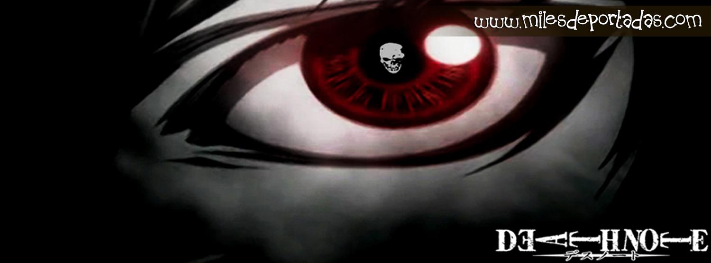Imágenes para portada de Facebook - Death Note