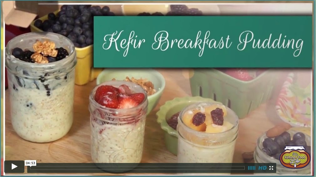 Picture of Kefir Breakfast Pudding