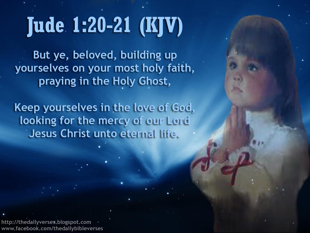 Daily Bible Verses: Jude 1:20-21