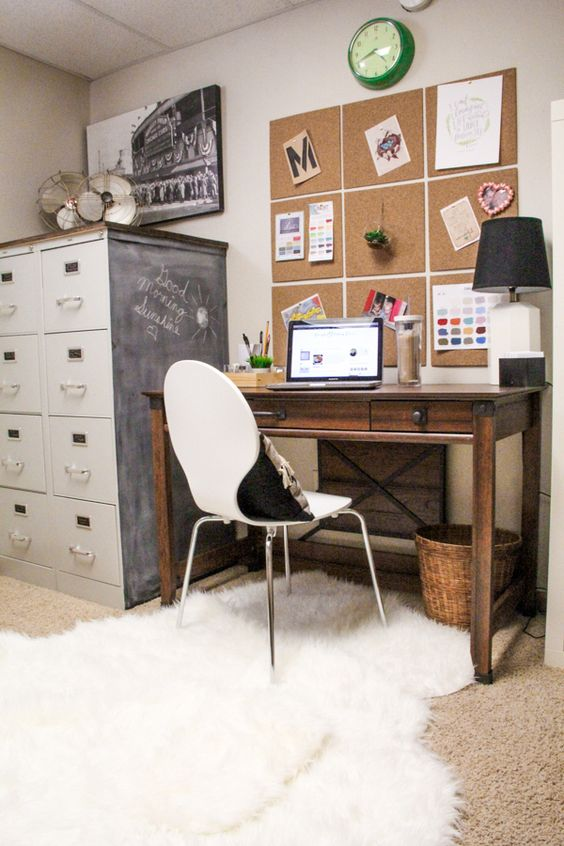 BEAUTIFUL OFFICE INSPIRATION 20 Incredibly Stylish And Organized Office Spaces