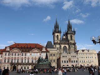 Staroměstské náměstí, Praga.