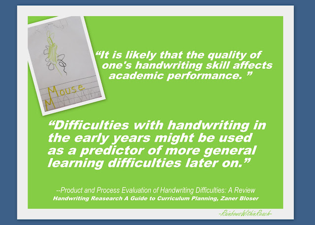 photo of: Handwriting benefits, fine motor development in children, early literacy