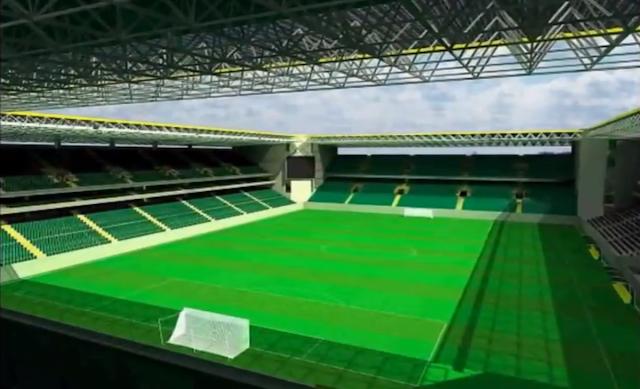 Arena do Goiás está prevista para estar pronta em 2014
