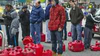 Fuel Shortage Hits Sandy Recovery