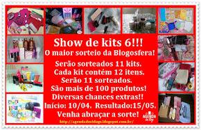 Sorteio Show de Kits 06 - Agenda dos blogs