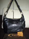 TOD&#39;S G LINE SACCA TRACCOLA LEATHER BAG