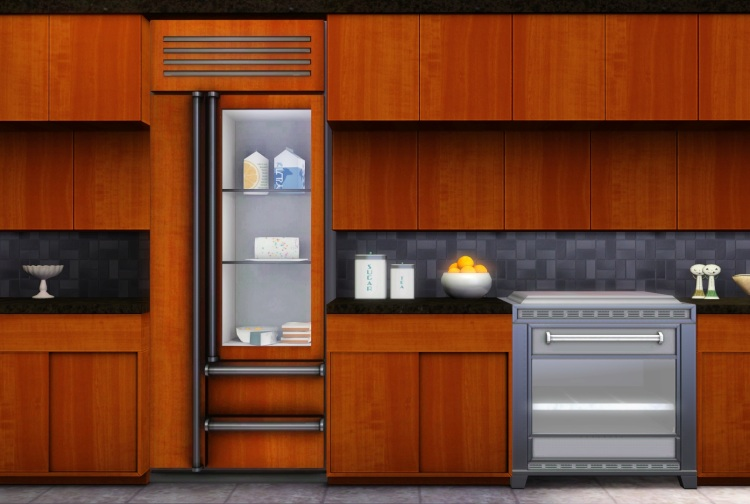 B5c eating time for Modern kitchen sims 3