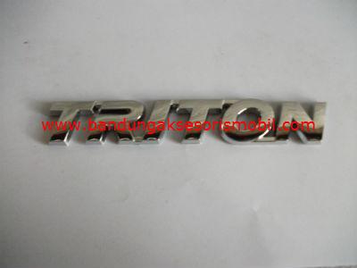 Emblem Tulisan Triton
