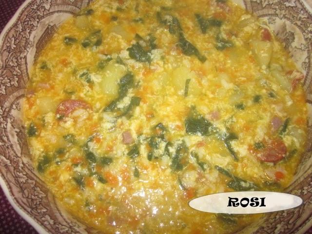 Entre cacharros de cocina sopa a la riojana thermomix for Cacharros de cocina