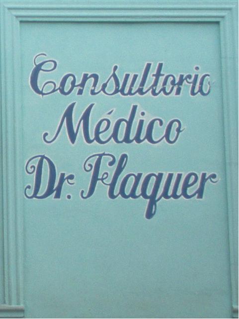 Consultorio médico Dr. Flaquer