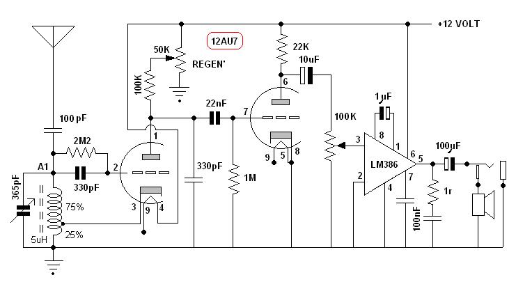 the  u0026quot speaky u0026quot  hf ssb transceiver and other homebrew projects  tube  valve receiver    the schematic