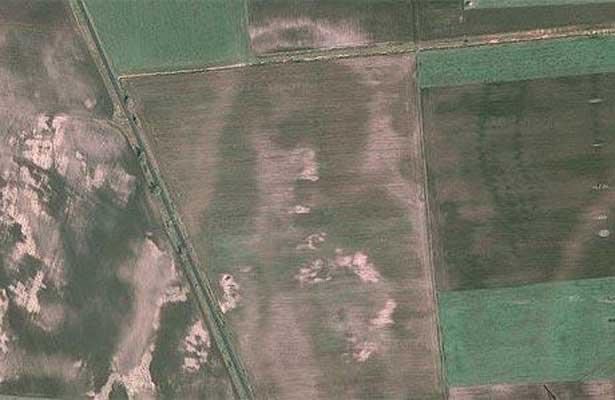 Misteriosas imágenes de Google Earth