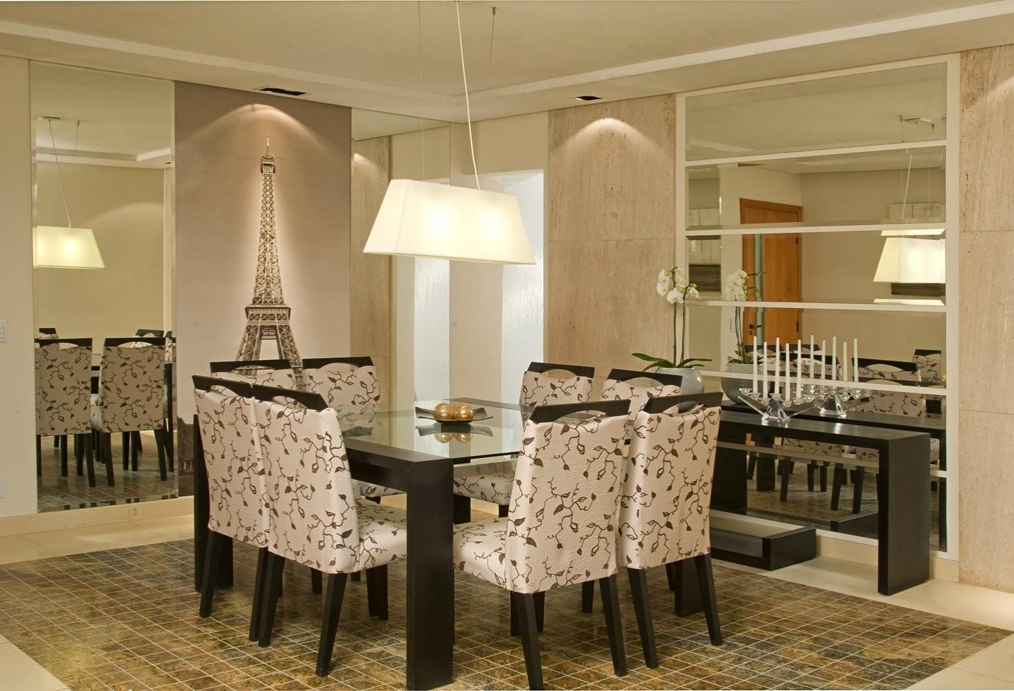 Jardim da Drika: Espelhos na Sala de Jantar #654D27 1460x996