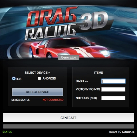Drag Racing 3D Hack for Android and iOS ~ Game Hack Download