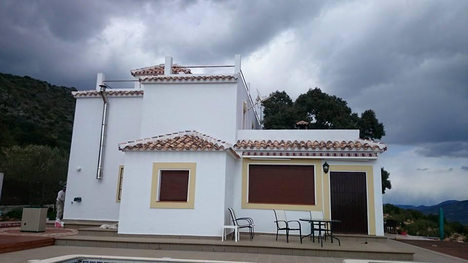 Archidona lezo blog la pintura y decoraci n de edificios - Paredes rusticas exteriores ...