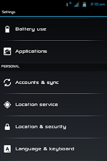 ICS-Style Settings