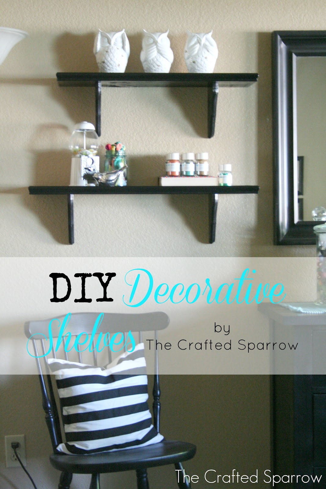 diy decorative shelves